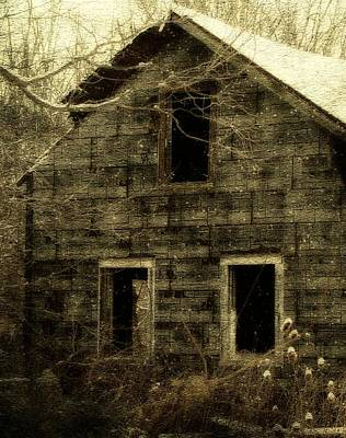 Abandoned House Digital Art - Windows by Gothicolors Donna Snyder