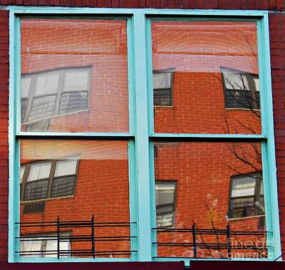 Windows In The Heights Print by Sarah Loft
