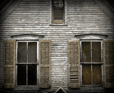 Windows Of Abandon Print by John Stephens