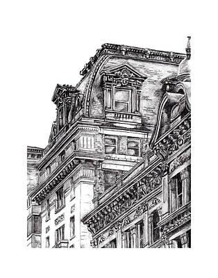 Washington D.c Drawing - Windows On Washington by Duane Gordon