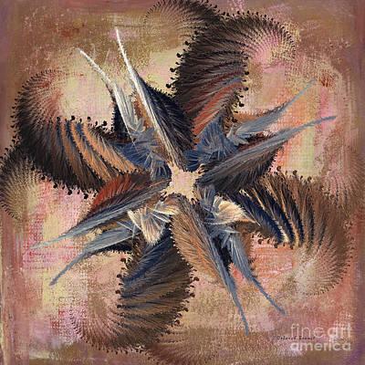 Winds Of Change Print by Deborah Benoit
