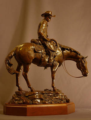 Bronze Horse Sculpture - Winds Of Change by Kim Corpany