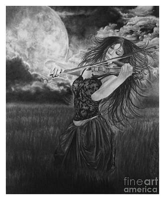 Terrestrial Drawing - Windsong by Gary Rudisill