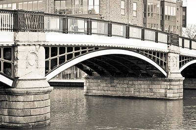 Windsor Bridge Print by Tom Gowanlock