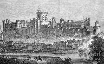 Windsor Castle, 1880s Print by Bildagentur-online