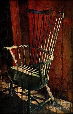 Windsor Chair  Print by Marcia Lee Jones