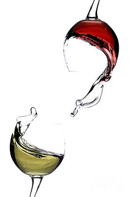 Wine Print by Andreas Berheide