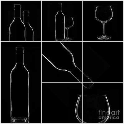 Wine Print by Bahadir Yeniceri