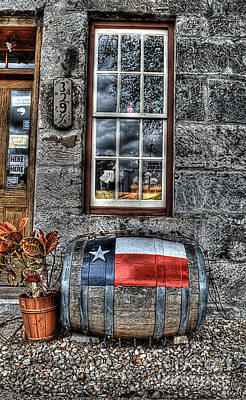 Winery Photograph - Wine Barrel by Hilton Barlow