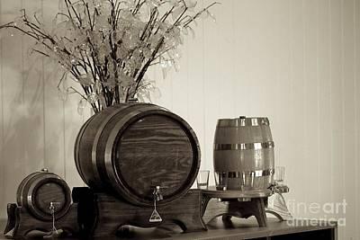Wine Barrels Original by Alanna DPhoto