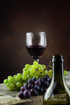 Wine Concept Print by Mythja  Photography
