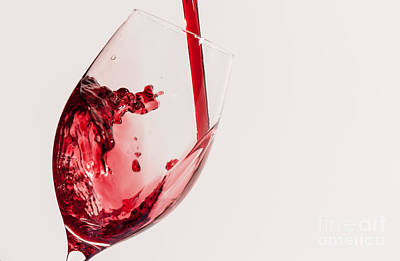 Food And Beverage Photograph - Wine Pour by Tod and Cynthia Grubbs