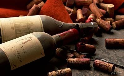 Wine Tasting Print by Cole Black