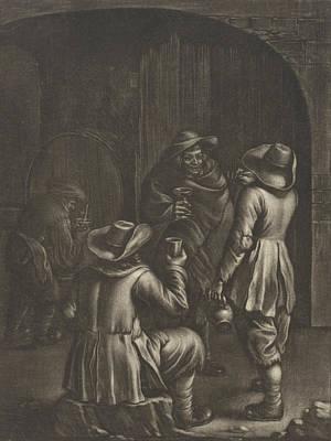 Wine Tasting, Jan Van Somer Print by Jan Van Somer