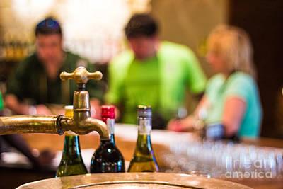 Women Tasting Wine Photograph - Wine Tasting by Pavel Prichystal
