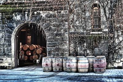 Winery Print by Tom Kiebzak