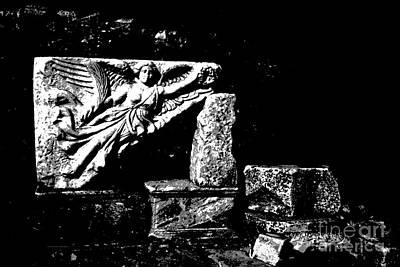 Greek Goddess Nike Photograph - Nike Greek Goddess Of Victory by Jacqueline M Lewis