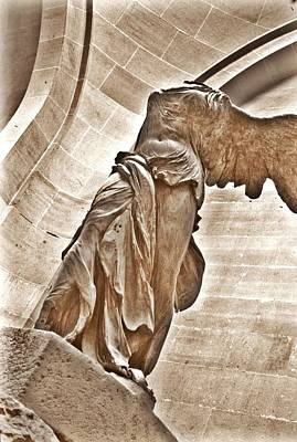 Winged Victory Print by Sharon Popek