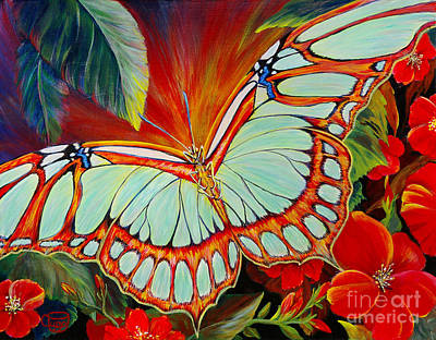 Painting - Wings Of The Dawn by Nancy Cupp