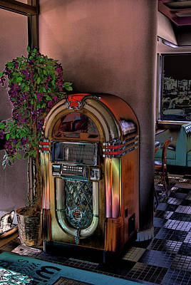 Winsteads Jukebox Print by Tim McCullough