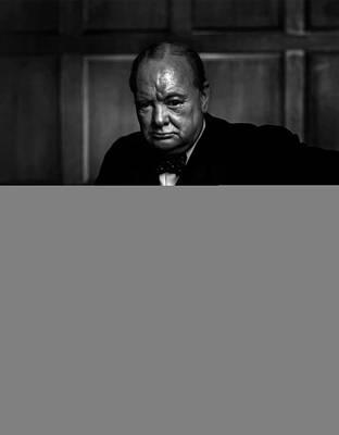 Statesmen Digital Art - Winston Churchill by Doc Braham
