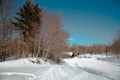Winter At Mccauley Mountain IIi Print by David Patterson