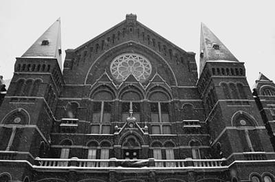 Cincinnati Photograph - Winter At Music Hall by Russell Todd