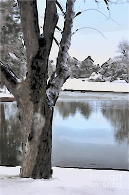Christmas Cards Digital Art - Winter Beauty by Betty LaRue