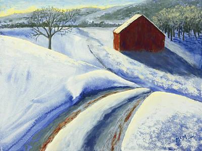 Winter Blues Original by Garry McMichael