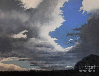 Winter Blues Print by Paul Horton