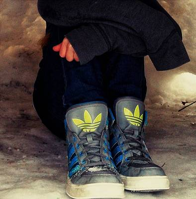 Adidas Photograph - Winter Chill by Lucky Bro's