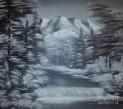 Landscape Painting - Winter by Collin A Clarke