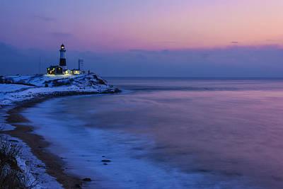 Montauk Photograph - Winter Dawn by Rick Berk