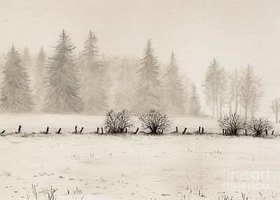 Winter Print by Dirk Dzimirsky