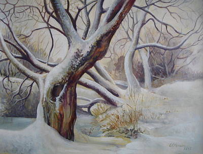 Winter Print by Elena Oleniuc