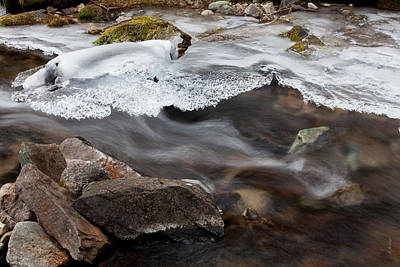 Daysray Photograph - Winter Flow by Fran Riley