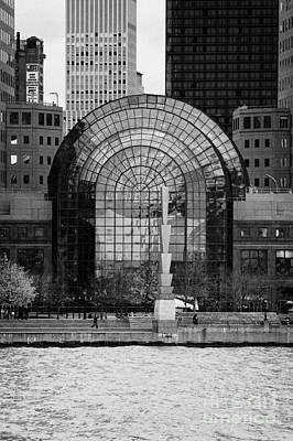 Winter Garden At World Trade Financial Center New York City Print by Joe Fox