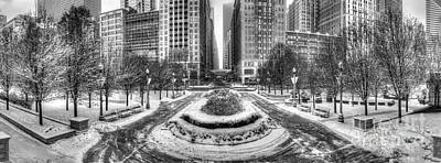 Millennium Park Photograph - Winter In Chicago by Twenty Two North Photography