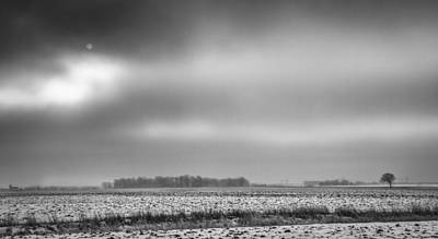 Farm Stand Photograph - Winter In Farm Country by Thomas Young