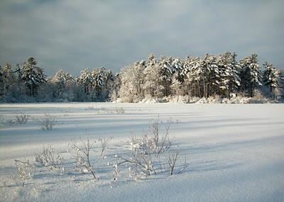 Winter Landscape Photograph - Winter Landscape At Mud Lake Ottawa by Rob Huntley