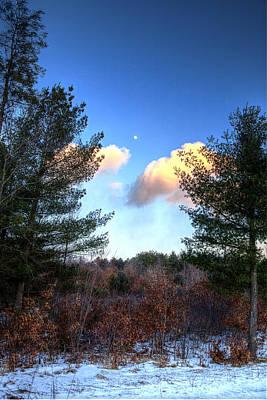 Winter Moon Original by Gary Gish