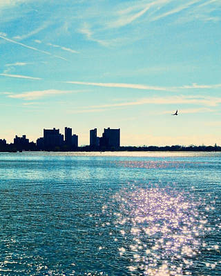 Staten Island Photograph - Winter Morning Gravesend Bay by Jon Woodhams