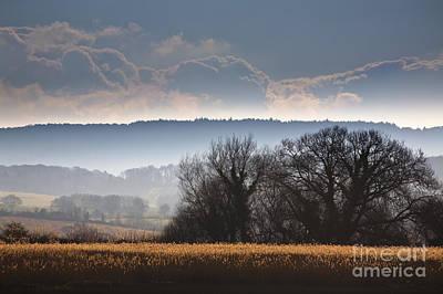 Devon Photograph - Winter Morning by Jan Bickerton