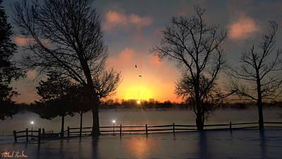 Winter Morning Original by Michael Rucker