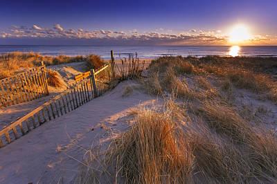 Nauset Beach Photograph - Winter Morning On Nauset Beach by Dapixara Art