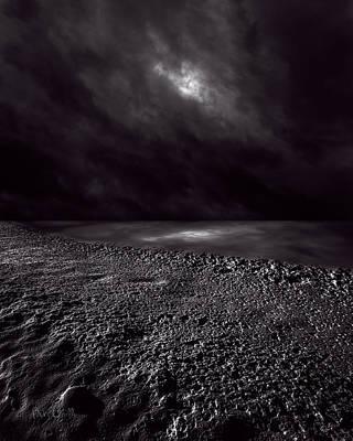 Winter Nightscape Print by Bob Orsillo