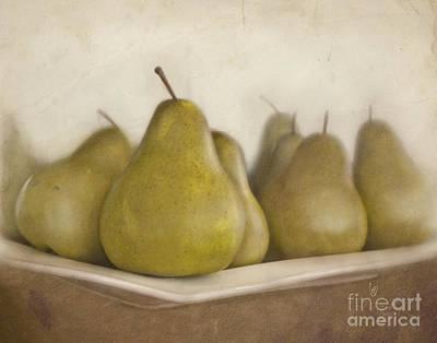 Sweet Digital Art - Winter Pears by Cindy Garber Iverson
