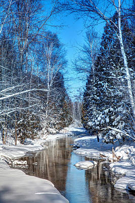 Winter Perfection Original by Gary Gish