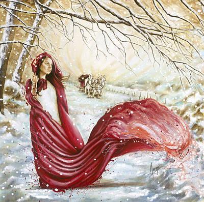 Winter Scent Print by Karina Llergo Salto
