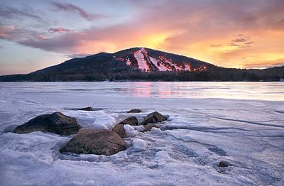 Maine Mountains Photograph - Winter Sky by Darylann Leonard Photography